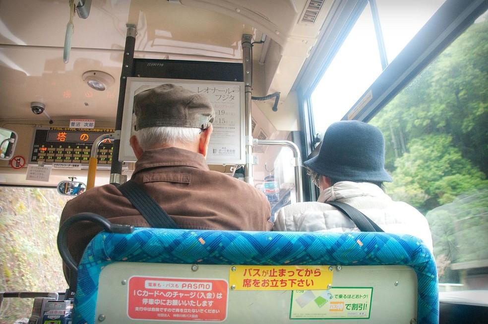 População do Japão envelhece num ritmo superior ao de outros países: em 2065, os idosos representarão 40% do total (Foto: By Jordi Sanchez, https://commons.wikimedia.org/w/index.php?curid=53670151)