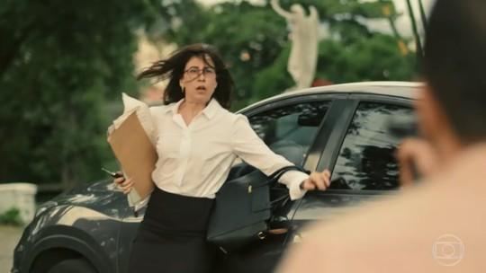 Renata leva tiro de paciente e é salva por Evandro; reveja a cena