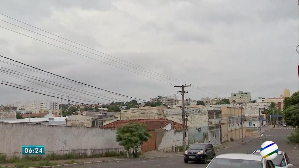 -  Previsão aponta tempo nublado até a próxima quinta-feira em MS  Foto: TV Morena/Reprodução