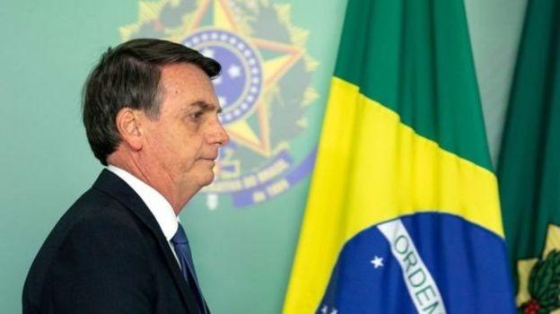 Bolsonaro enfrenta dificuldades políticas para aprovar a reforma da Previdência (Foto: SERGIO LIMA/GETTY IMAGES via BBC News Brasil)