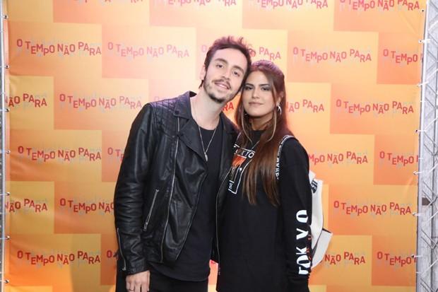 Wagner Santisteban e Antonia Morais (Foto: Daniel Pinheiro/AgNews)