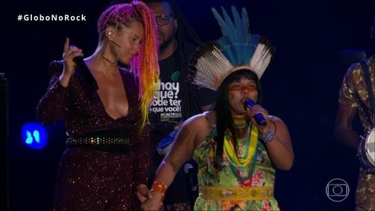 Alicia Keys leva causa indígena e funk ao palco do Rock in Rio