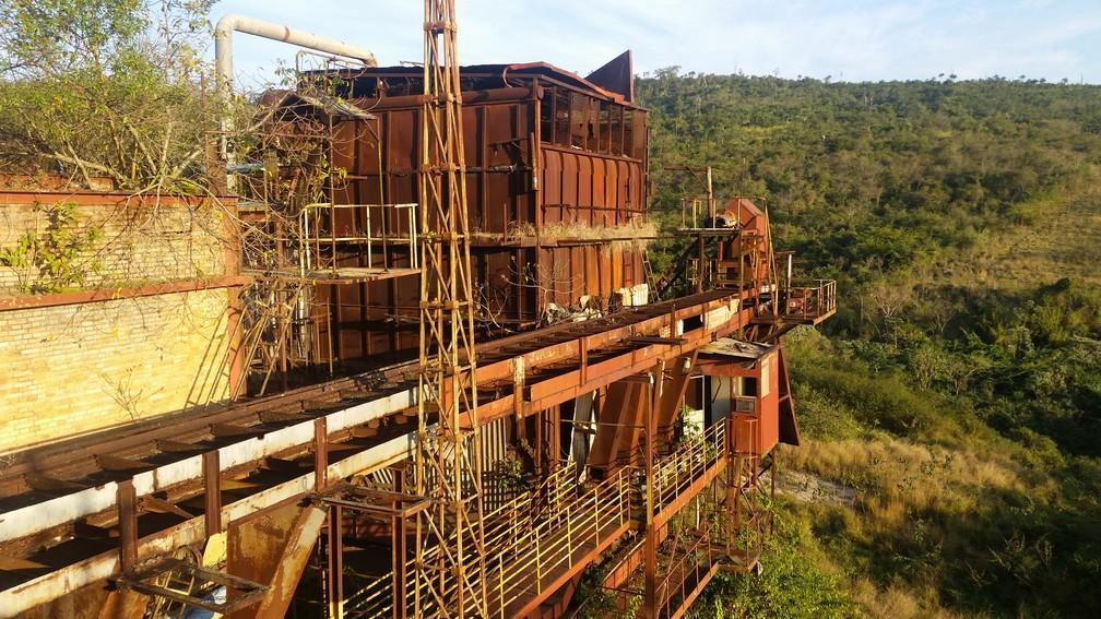 Usina de Ariadnópolis, em Campo do Meio — Foto: Régis Melo