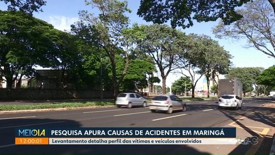 Pesquisa da UEM investiga causas de acidentes com mortes em Maringá