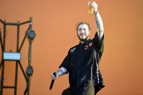 O rapper Post Malone (Foto: getty)
