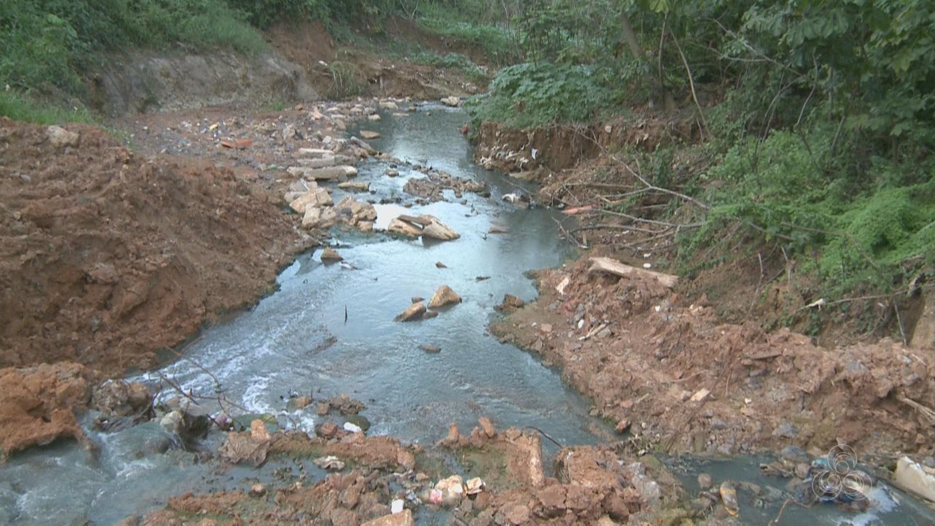 Rio Branco fica entre as dez cidades do país com pior saneamento básico, aponta estudo