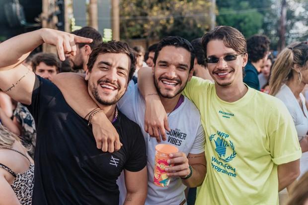 Valmir Wanderley, Thiago Wanderley e Victor Carvalheira (Foto: Felipe Lorega/ Divulgação)