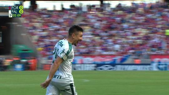 Atuações: Willian decide vitória do Palmeiras contra o Fortaleza