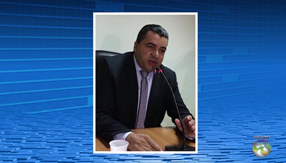 Vereador Marinho da Estiva estava afastado (Foto: Reprodução/TV Asa Branca)