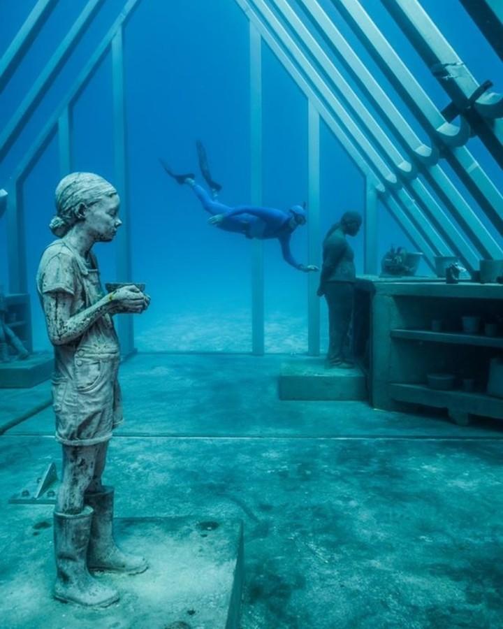 Novo Museu de Arte Subaquática é inaugurado na Austrália (Foto: Divulgação)