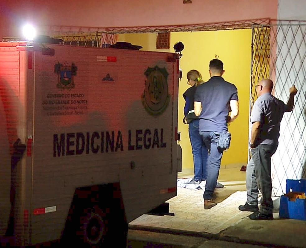 Crime aconteceu no conjunto José Sarney, na Zona Norte de Natal — Foto: Inter TV Cabugi/Reprodução