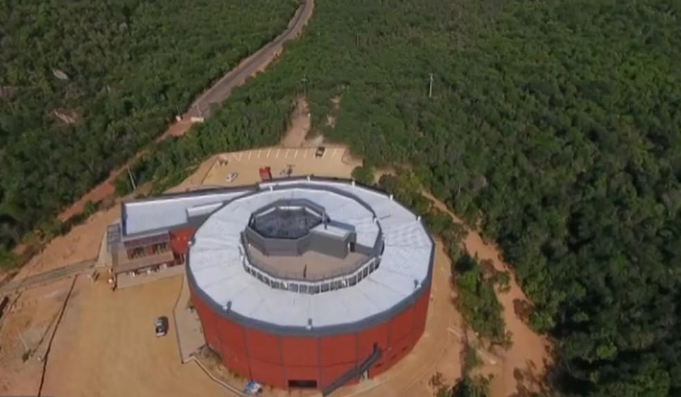 Museu da Natureza, no Piauí. — Foto: Reprodução/TV Clube