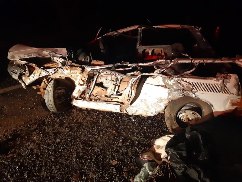 Homem de aproximadamente 70 anos não resistiu aos ferimentos após acidente em Marília — Foto: Polícia Rodoviária Federal/Divulgação
