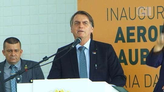 Bolsonaro critica 'xiitas ambientais' e diz ter 'profunda repulsa com quem não é brasileiro'