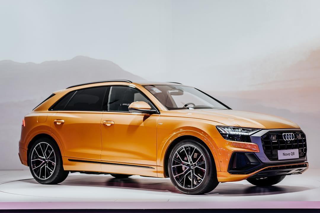 Audi no Salão do Automóvel (Foto: Reprodução/Instagram)