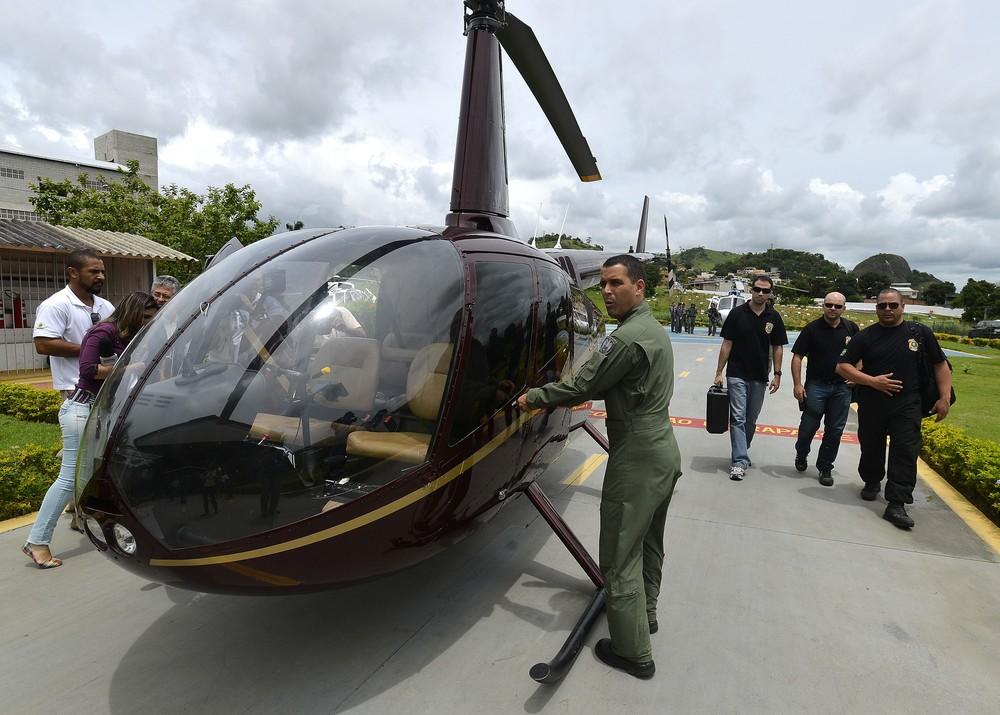 Acusados de tráfico em helicóptero da família Perrella são condenados pela Justiça do ES
