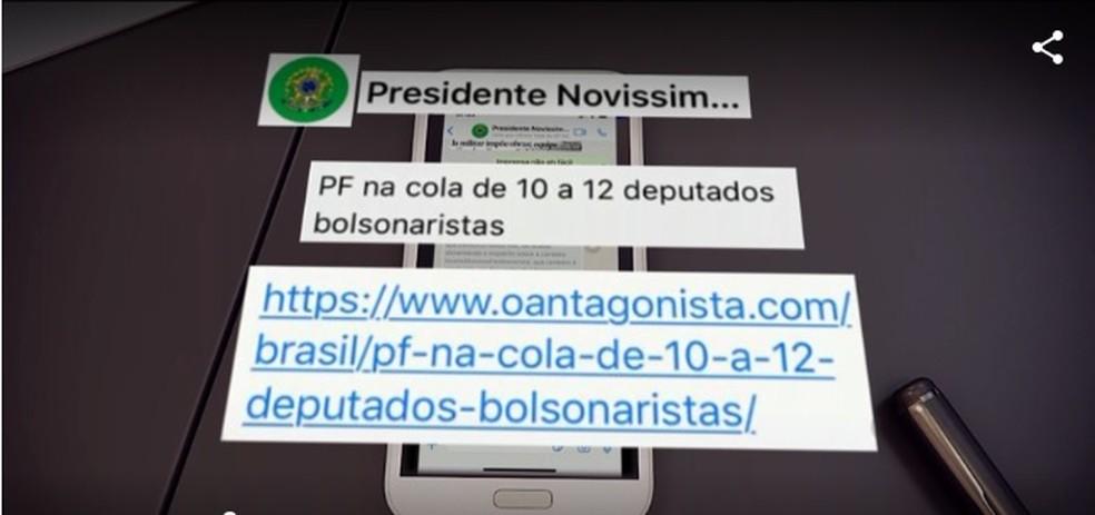 Moro mostra mensagens em que Bolsonaro pede mudança na PF ...