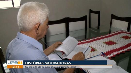 Idosos voltam a estudar e conquistam diplomas universitários, na Paraíba