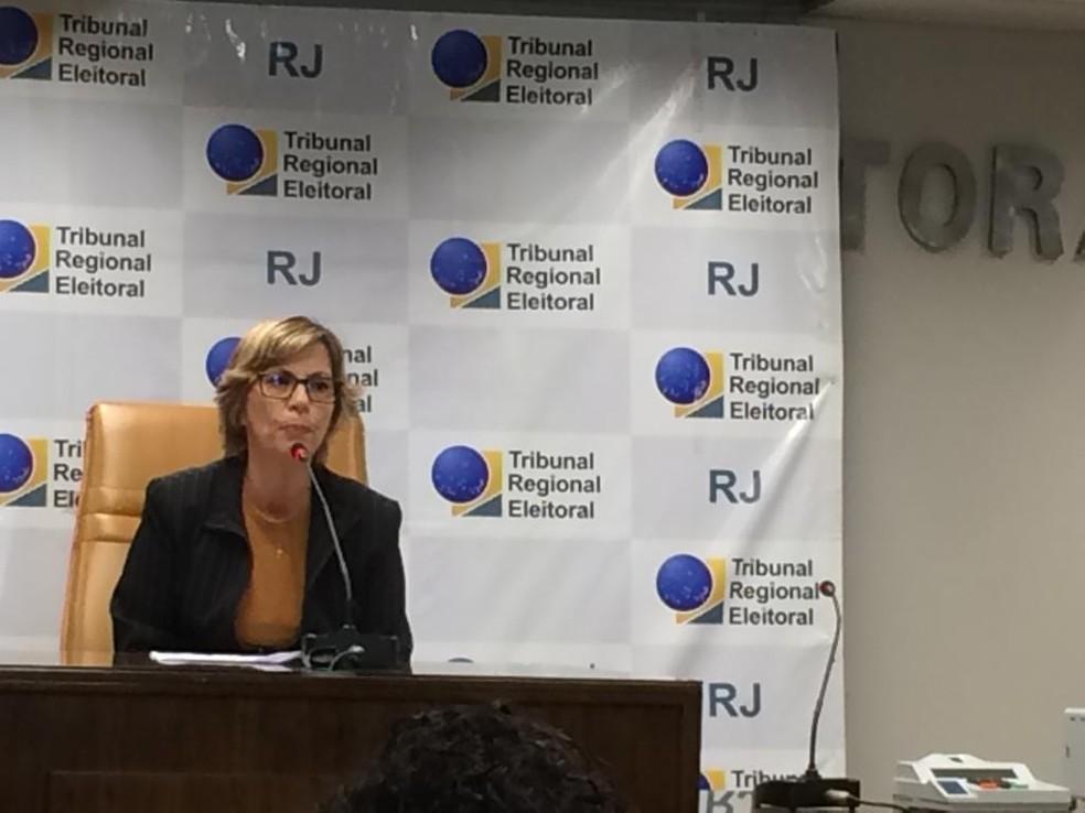 Adriana Brandão, diretora-geral do TRE-RJ — Foto: Alba Valéria Mendonça/G1