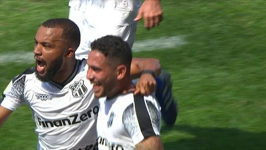 Os gols de Corinthians 2 x 2 Ceará pela 18ª rodada do Brasileirão