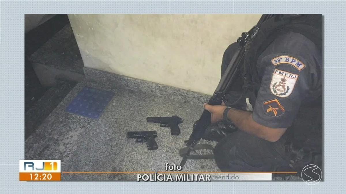 Polícia flagra assalto a mercearia em Angra dos Reis e evita roubo de R$ 5 mil - G1