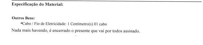 Homem é preso em flagrante no Rio suspeito de furtar 1 cm de fio