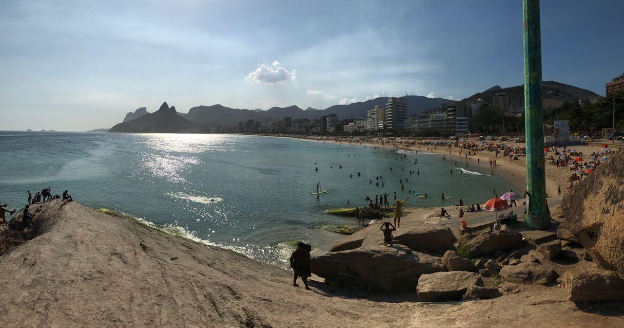 Às vésperas do carnaval, Rio tem sensação térmica de 43,2ºC