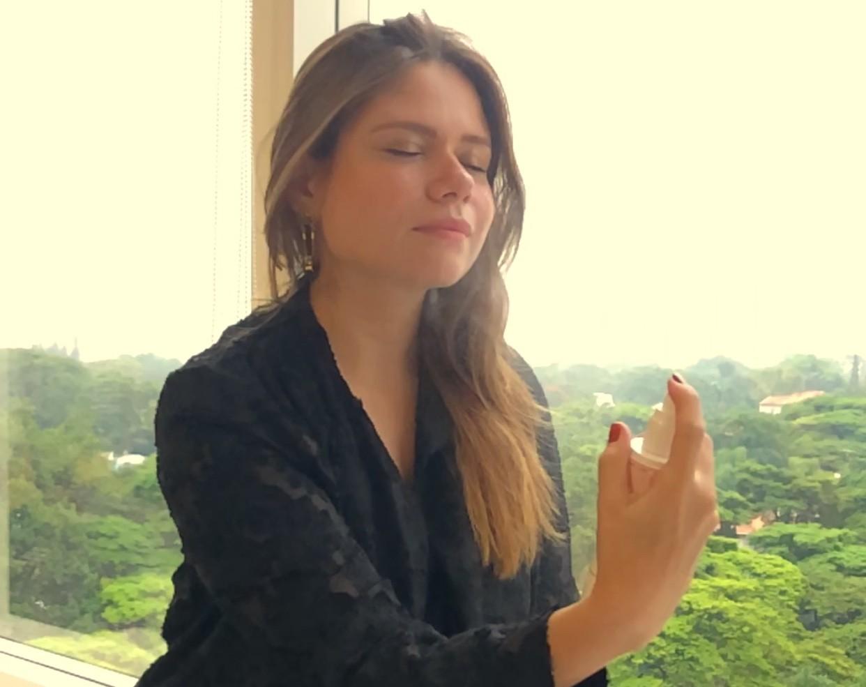 Barbara Tavares, brumas hidratantes (Foto: Arquivo Pessoal)