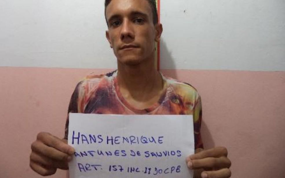 Hans Henrique Antunes de Sauvios, que fugiu da cadeia de Uruaçu, em Goiás — Foto: DGAP/Divulgação