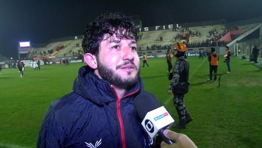 Fernando Neto estreia como titular na Série B e marca pelo Paraná contra o Brasil-RS
