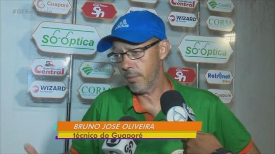 Com dois gols feitos por Rodrigão, camisa 9, o Guaporé luta por chance de classificação para semifinal