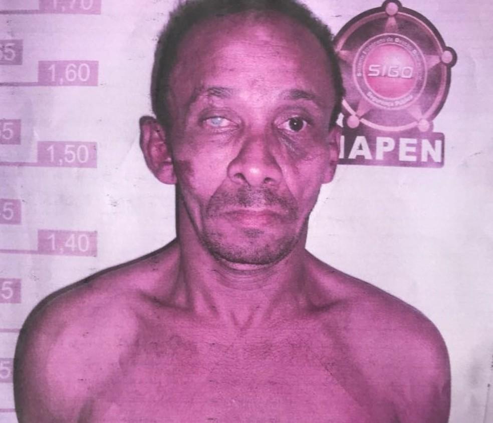 Detento foi encontrado morto  (Foto: Divulgação)