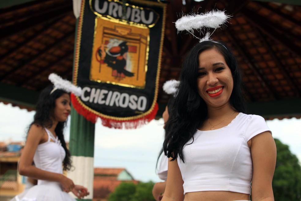 """-  Bloco do Urubu Cheiroso tem como lema """"Carnaval com alegria só se faz com fantasia"""".  Foto: Márcio Ferreira/Agência Pará"""