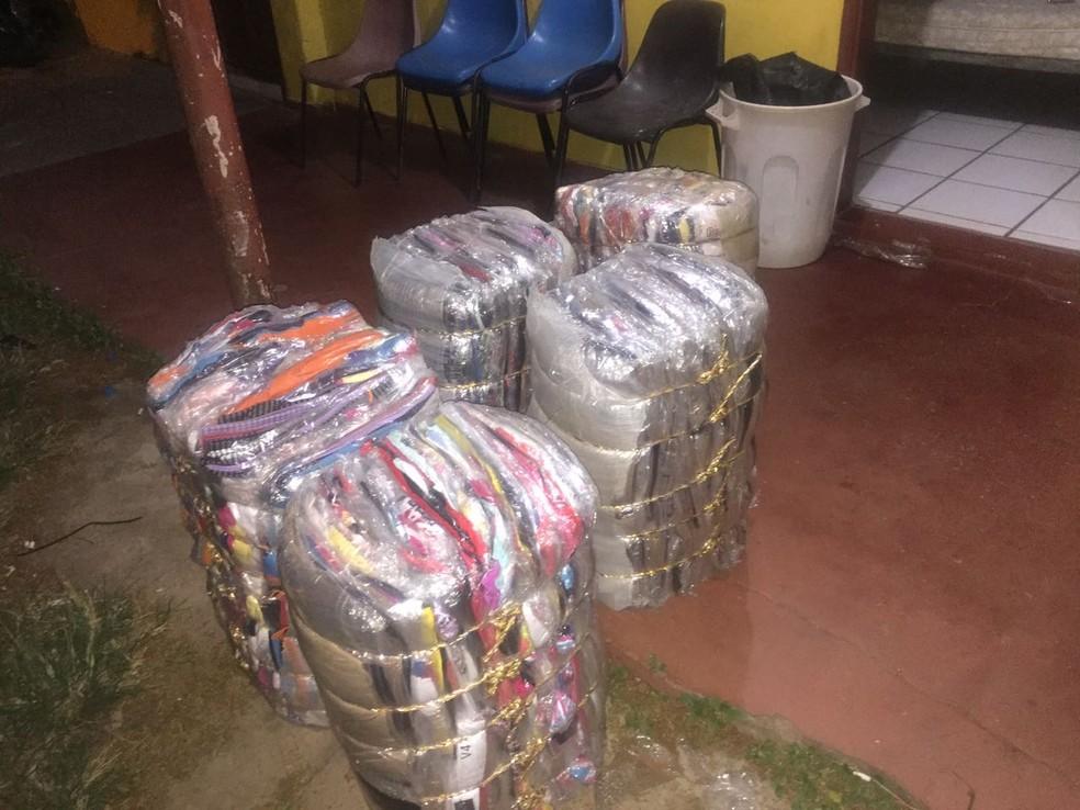 Produtos foram apreendidos pela PM (Foto: Cedida/Polícia Militar)