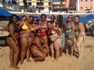 Mulheres do movimento 'vai ter gorda' falam da importância da autoestima na Bahia (Foto: Maiana Belo / G1 BA)