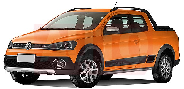 Volkswagen Saveiro Cabine Dupla Chega Em Setembro Auto