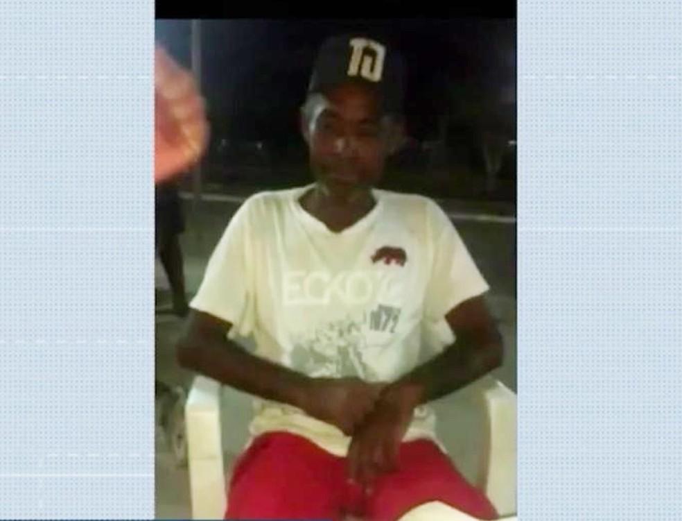 Roque, 50 anos, desapareceu em naufrágio de canoa no Rio Paraguaçu — Foto: Reprodução/TV Bahia