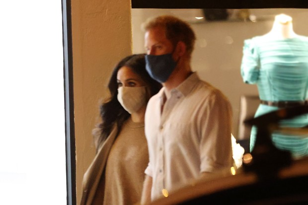 Harry e Meghan Markle (Foto: The Grosby Group)