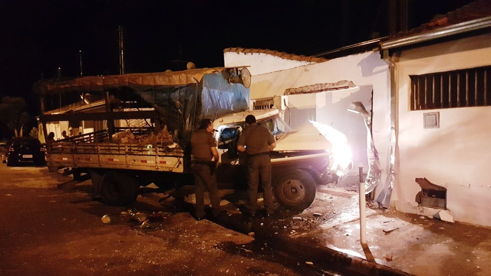 Polícia Militar foi acionada, mas o agressor não estava mais no local  (Foto: Luizinho Andretto / Arquivo pessoal )