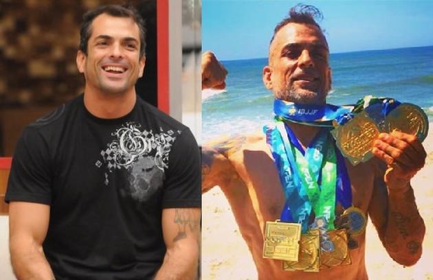Marcelo Dourado, vencedor do 'BBB' 10, é lutador. Recentemente, postou sobre suas conquistas: 'Foram 26 lutas, com 23 vitórias contabilizadas' (Foto: Reprodução)