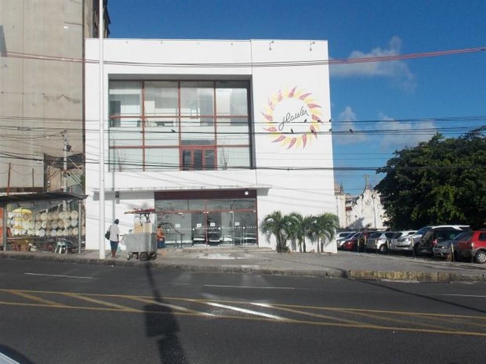 Espaço de cinema Itaú Glauber Rocha, em Salvador, é desativado — Foto: Maiana Belo/G1