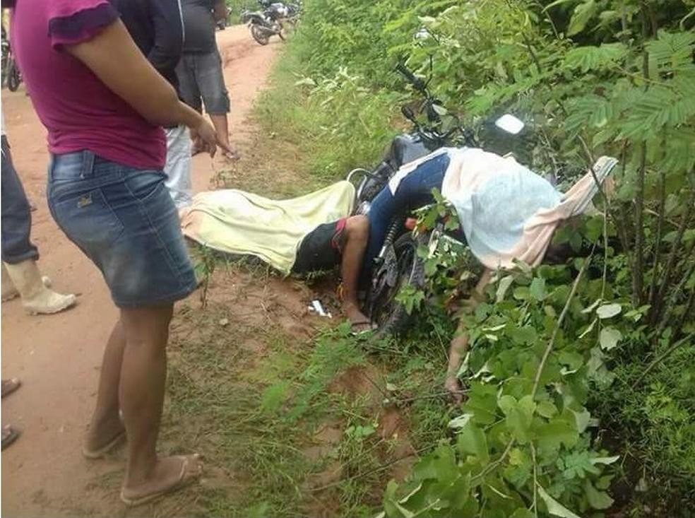 Pai e filha são assassinados por briga em família no interior do Ceará (Foto: Arquivo pessoal)
