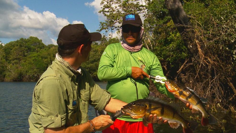 Pesca esportiva é tema de reportagens do Terra da Gente (Foto: Arquivo TG)