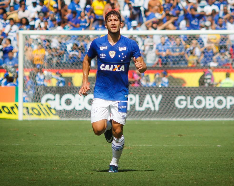 Lucas Silva vem sendo titular do Cruzeiro ao lado de Henrique (Foto: Vinnicius Silva/Cruzeiro)