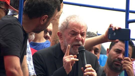 Lula critica a Lava Jato e o governo em discurso no ABC paulista