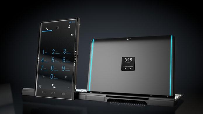 Dispositivo é smartphone, tablet e ultrabook com Android e Windows (Foto: Divulgação)
