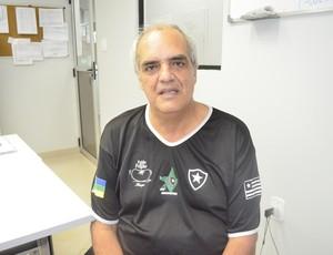 Paixão pelo Botafogo faz torcedores criarem associação no Amapá (Foto: Cassio Albuquerque/GE-AP)