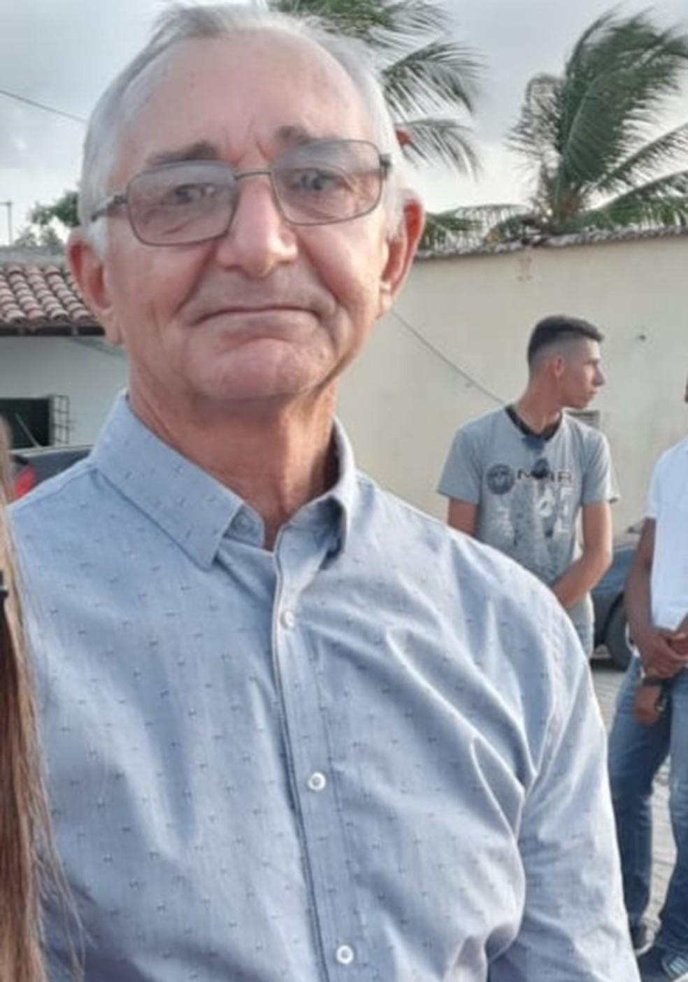 Aposentado José Agenor Agostinho dos Santos morreu em acidente na BR-226, no RN — Foto: Cedida