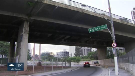 8 pontes de SP terão vistoria de emergência após nova interdição na Marginal