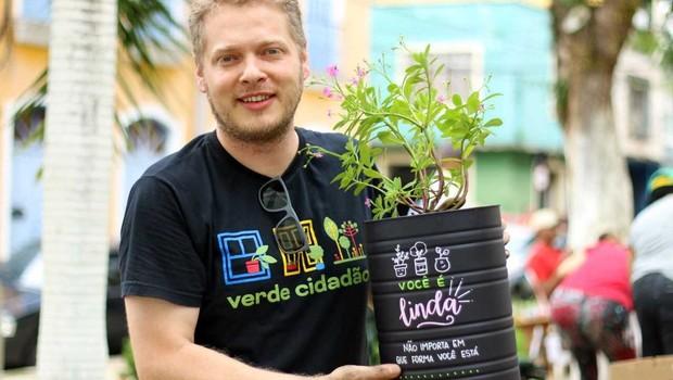 Daniel Oliveira, criador do Verde Cidadão  (Foto: Divulgação)